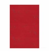 Скатерть бумажная Aster Creative 120х200см 1 слой, бордо