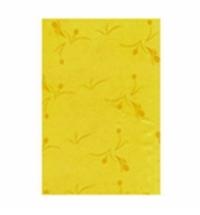 Скатерть бумажная Aster Creative 120х200см 1 слой, желтая