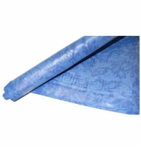Скатерть бумажная Vitto Prestige 120х700см с полимерным покрытием, синяя