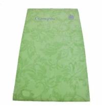 Скатерть бумажная Vitto Prestige 120х180cм с полимерным покрытием, зеленая