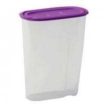Банка для сыпучих продуктов Idea 2.1л пластик, с плотно прилегающей крышкой с дозатором