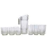 Питьевой набор Luminarc Elysees кувшин и 12 стаканов прозрачный