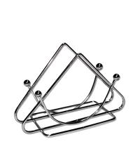 Салфетница Bekker Треугольник 9 х 13 х 5.5см металлик, ВК-3102
