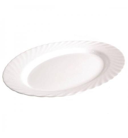 фото: Блюдо Luminarc Trianon белое 35см, овальное