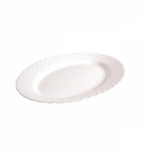 Блюдо Luminarc Trianon белое 29см, овальное