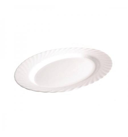 фото: Блюдо Luminarc Trianon белое 29см, овальное