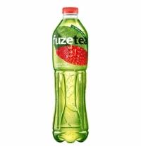 Чай холодный Fuze Tea клубника-малина зеленый, ПЭТ, 1.5л