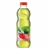 Чай холодный Fuze Tea клубника-малина зеленый, ПЭТ, 1л