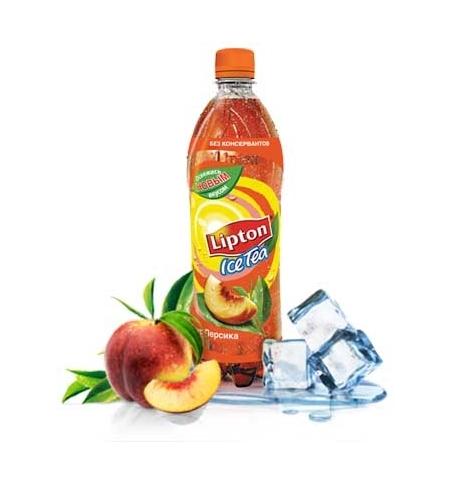 фото: Чай холодный Lipton Ice Tea персик ПЭТ, 500мл