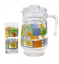 Питьевой набор Luminarc кувшин и 6 стаканов 1.6л