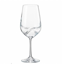 Бокал для вина Bohemia Crystal Turbulence 350мл 2шт/уп