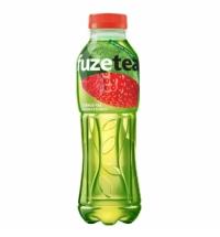 Чай холодный Fuze Tea клубника-малина зеленый, ПЭТ, 500мл