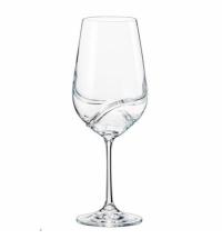 Бокал для вина Bohemia Crystal Turbulence 550мл 2шт/уп