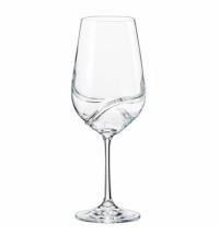 Бокал для вина Bohemia Crystal Turbulence 570мл 2шт/уп