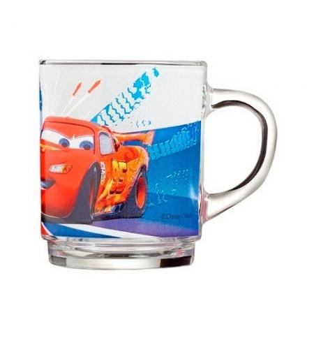 фото: Кружка Luminarc Тачки прозрачная 250мл