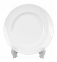 Тарелка десертная Добруш белая d 20см