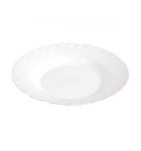фото: Тарелка глубокая Luminarc Trianon белая d 22.5см