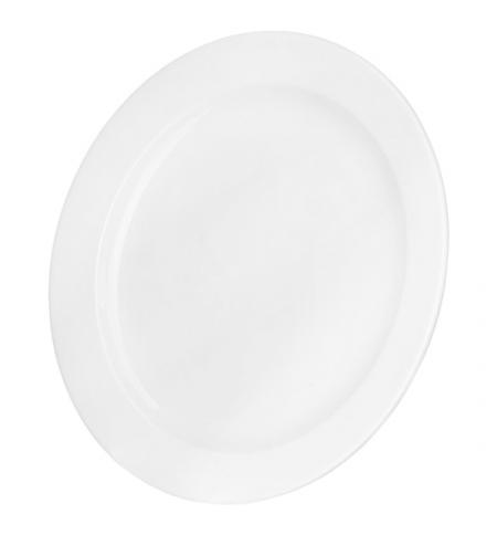 фото: Тарелка обеденная Башкирский Фарфор белая d 20см