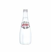 Вода Эвиан в стекле 0.33 л, без газа