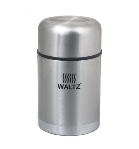 фото: Термос пищевой Waltz 0.8л нержавеющая сталь