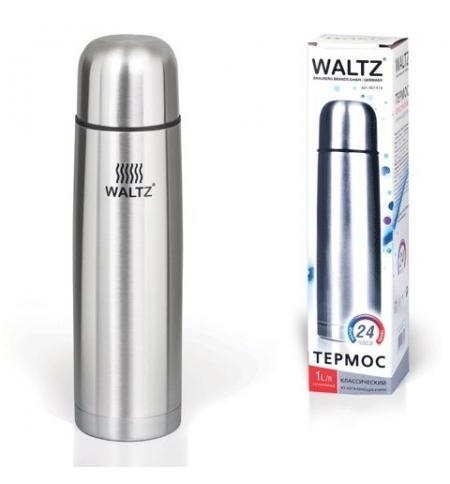 фото: Термос с узким горлом Waltz 1л нержавеющая сталь