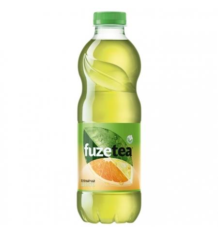 фото: Чай холодный Fuze Tea цитрус зеленый, ПЭТ, 1л