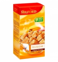 Сахар Milford чайный кусковой тросниковый, 500г
