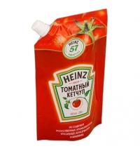 Кетчуп Heinz томатный 350г, пакет