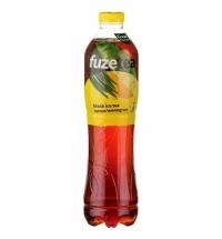 Чай холодный Fuze Tea лимон - лемонграсс черный, 1.5л, ПЭТ