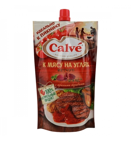 фото: Кетчуп Heinz к мясу 350г, пакет
