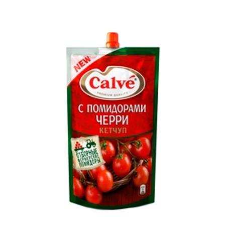 фото: Кетчуп Heinz с помидорами черри 350г, пакет