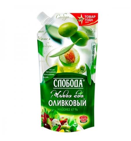 фото: Майонез Слобода Оливковый 230мл, 67%