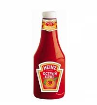 Кетчуп Heinz острый 1кг, пластик