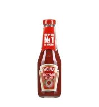 Кетчуп Heinz острый 342г, стекло