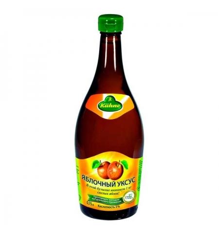 фото: Уксус Kuhne яблочный 5%, 0.75л