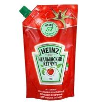 Кетчуп Heinz Итальянский 350г, пакет