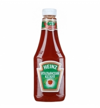 Кетчуп Heinz Итальянский 1кг, пластик