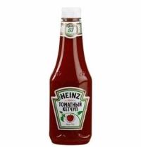 Кетчуп Heinz томатный 570г, пластик