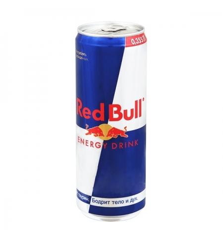 фото: Напиток энергетический Red Bull 355мл ж/б