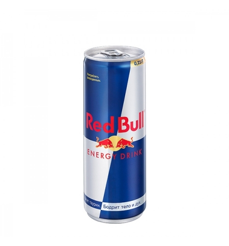 фото: Напиток энергетический Red Bull 250мл ж/б