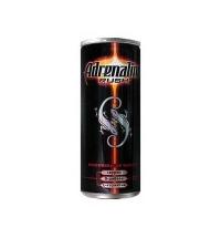 Напиток энергетический Adrenaline Rush Juicy Ягодная Энергия 250мл х 12шт ж/б
