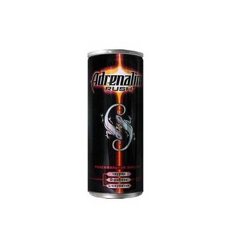 фото: Напиток энергетический Adrenaline Rush Juicy Ягодная Энергия 250мл х 12шт ж/б