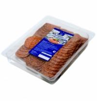 Колбаса Horeca Пепперони сырокопченая 500г, нарезка