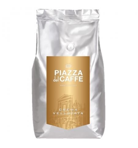 фото: Кофе в зернах Piazza Del Caffe Crema Vellutata 1кг пачка