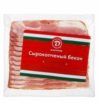 Бекон Дымов Венгерский сырокопченый 200г
