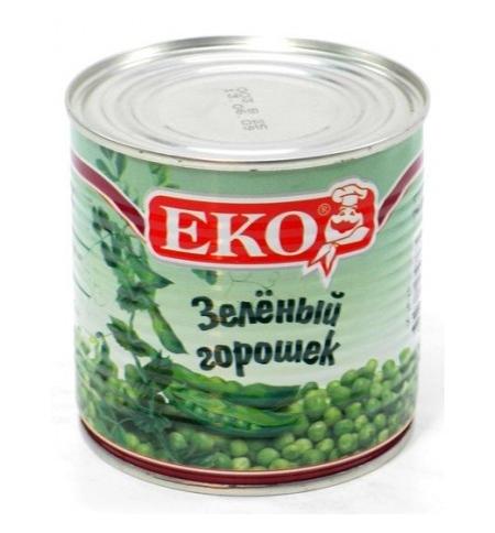 фото: Зеленый горошек Eko из мозговых сортов 420г