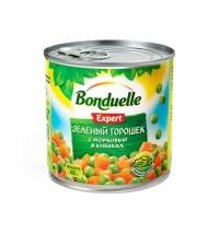 Зеленый горошек Bonduelle Expert с морковью в кубиках 400г