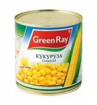 Кукуруза Green Ray сладкая 400г