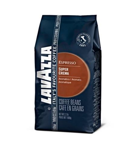 фото: Кофе в зернах Lavazza Professional Super Crema 1кг пачка