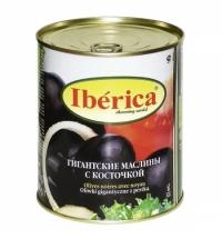 Маслины Iberica гигантские с косточкой 875г
